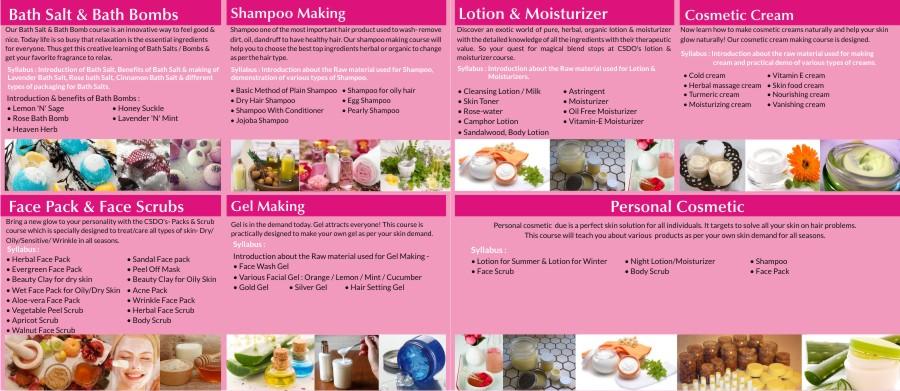 csdo cosmetic making