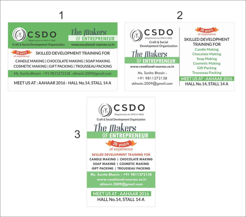 csdo Basic courses