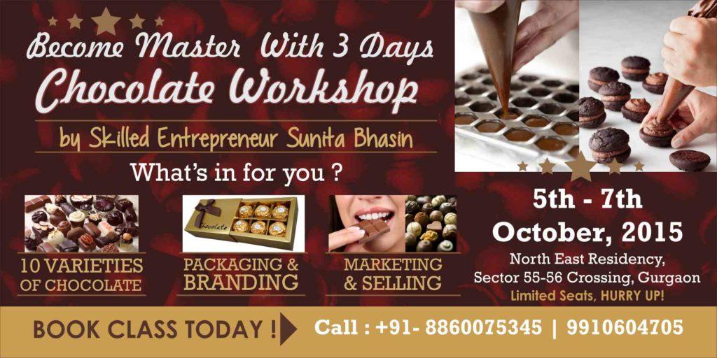 chocolate workshop by csdo