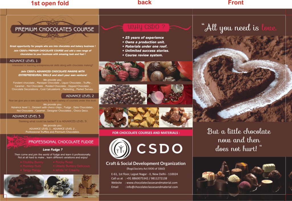 different chocolate making courses