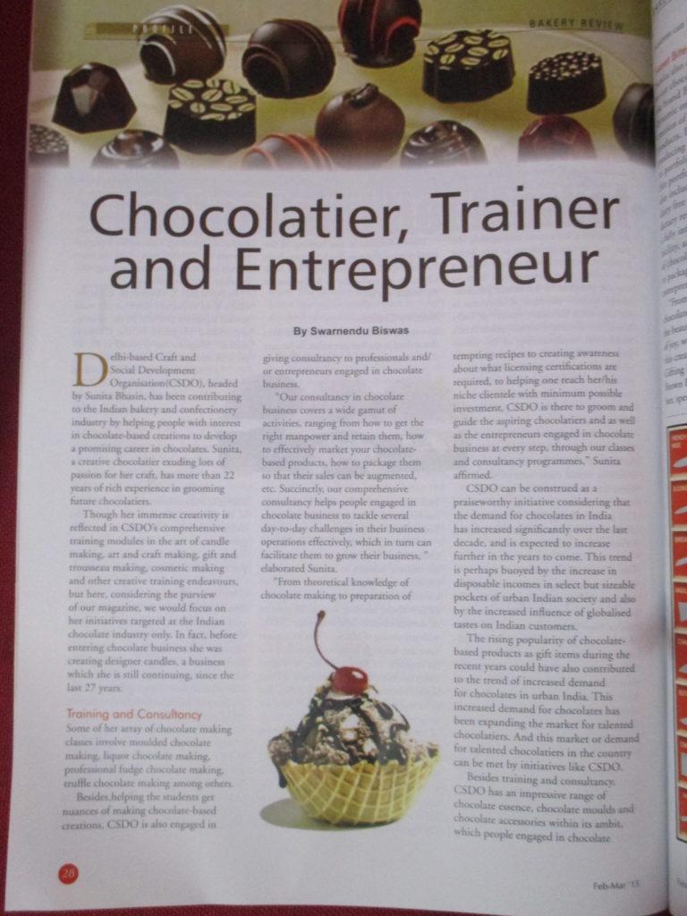 chocolate making by csdo