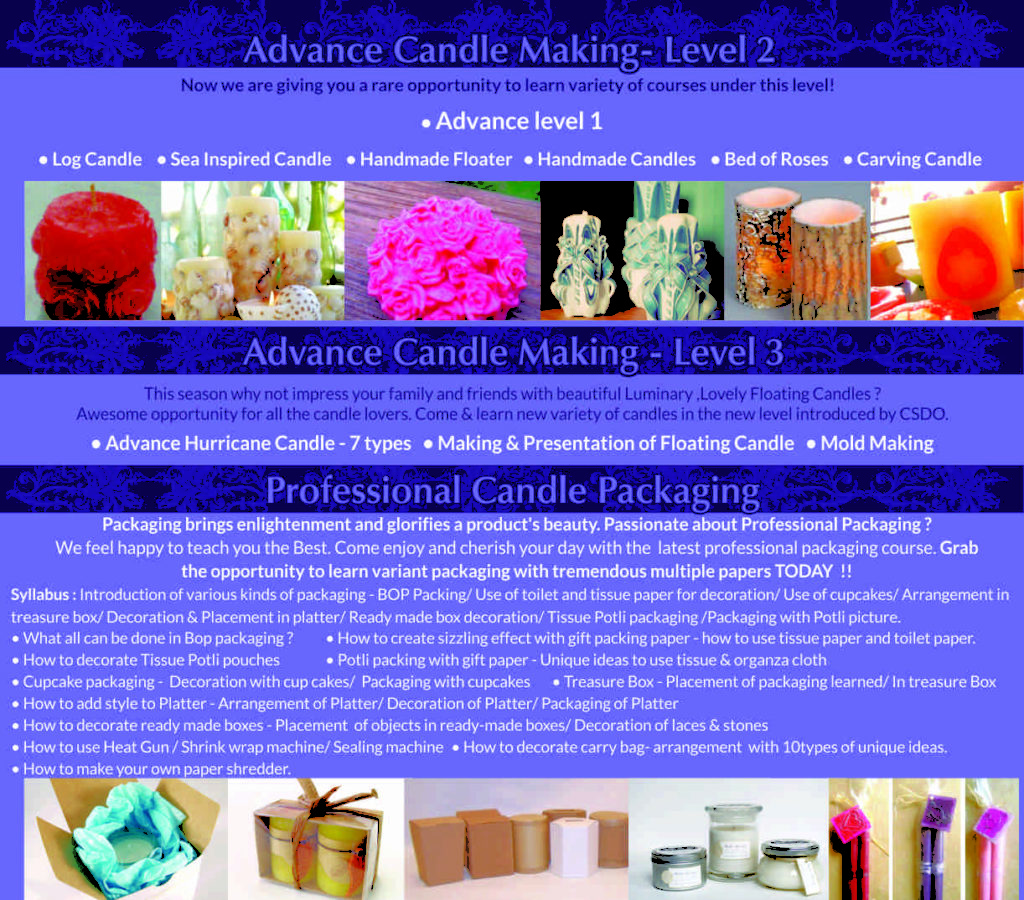 professional candle making courses