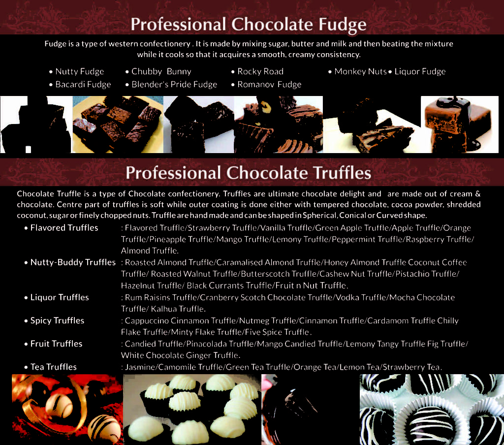 Professional choco course