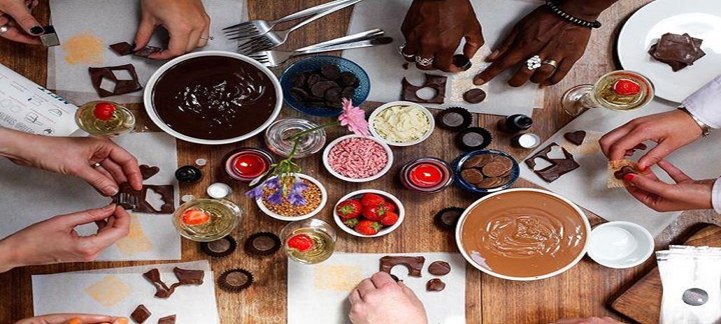 Homemade chocolates best stress buster