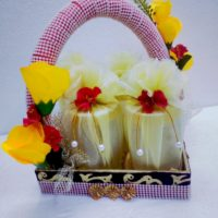 Trousseau Packing- Basket Draping and decoration